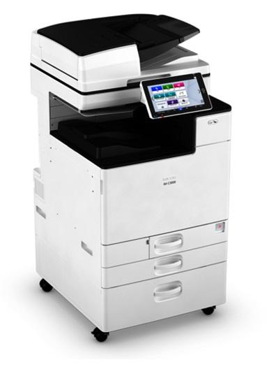 Ricoh IM C3000, 30 стор./хв., повнокольоровий мережевий принтер, копір, сканер, ARDF, дуплекс