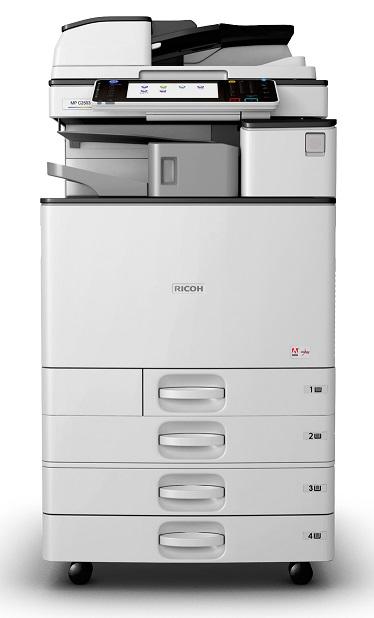 Ricoh MP C2011SP, 20 стр. /мин., полноцветный сетевой принтер, копир, сканер, ARDF, дуплекс, 250Gb HDD, 1,5Gb RAM