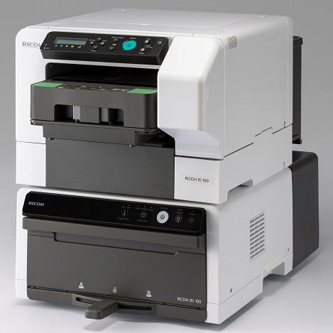 Ricoh Ri 100 принтер для прямой печати на готовых изделиях из тканей