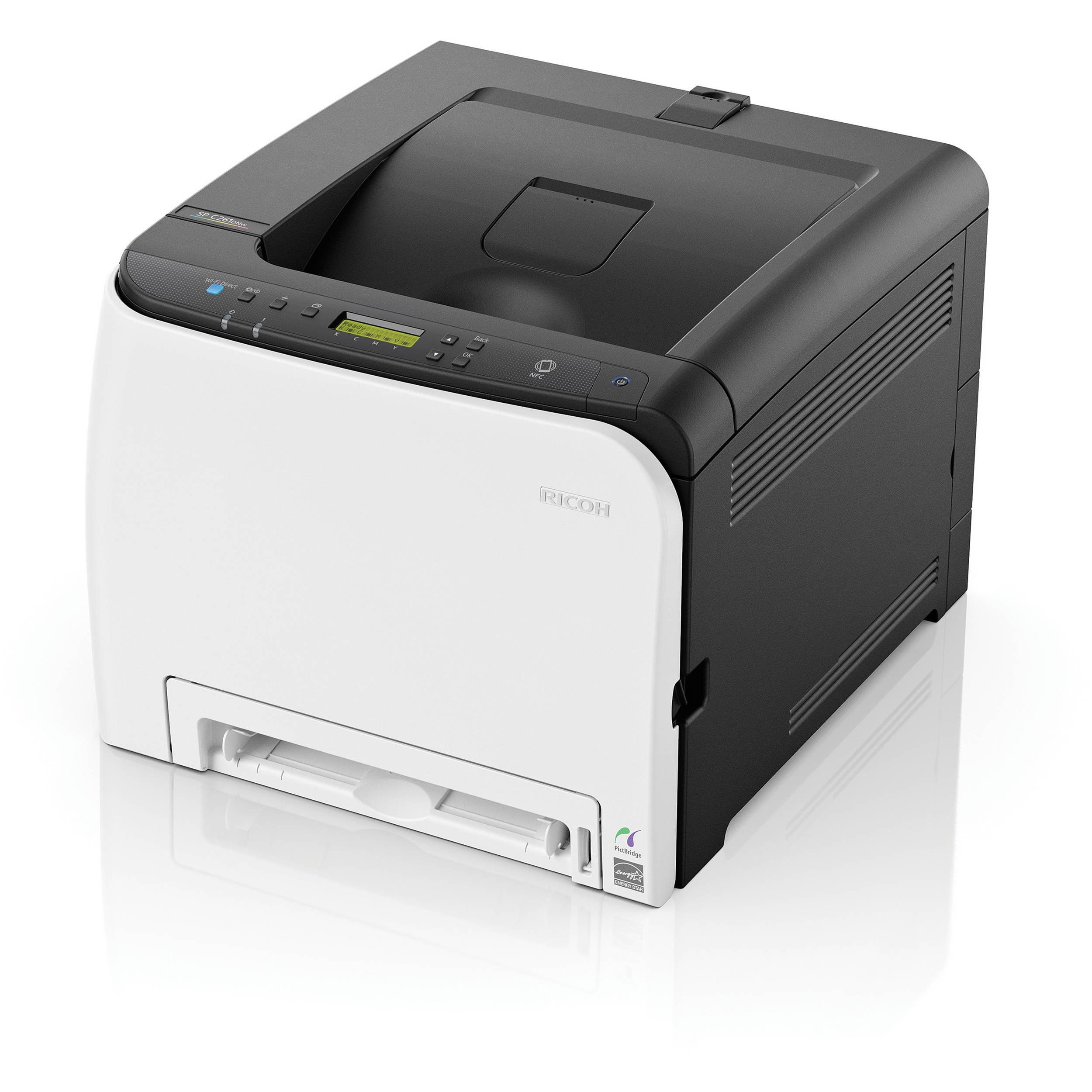 Ricoh SP C261DNw, 20 стор./хв., повнокольоровий мережевий принтер, дуплекс