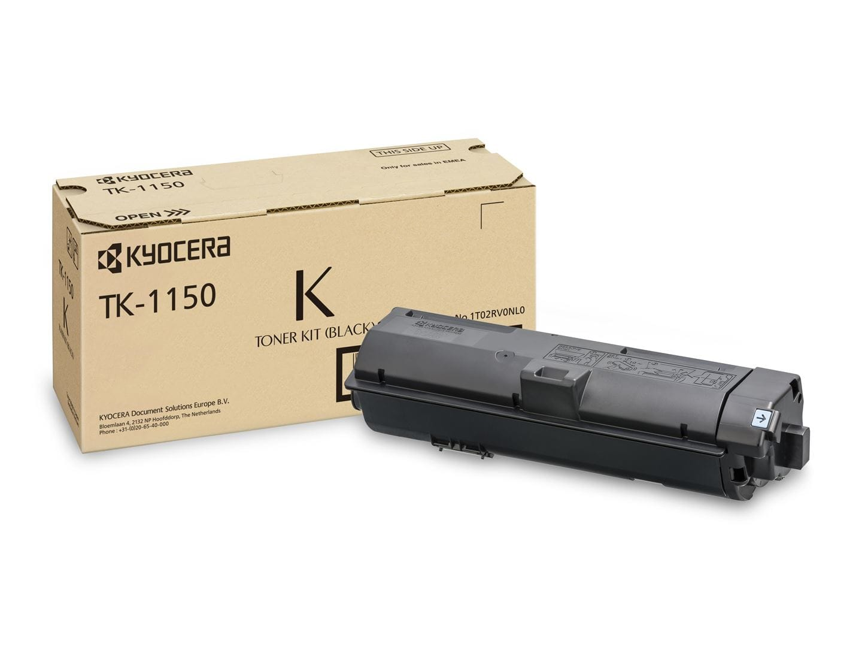 Заправка картриджа TK-1150 для Kyocera M2135dn/ M2635dn/ M2735dw/ P2235dn/ P2235dw
